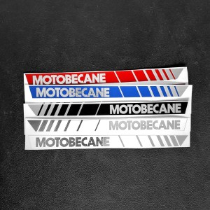 NEW Reproduction Motobecane tank decal set – assorted colors