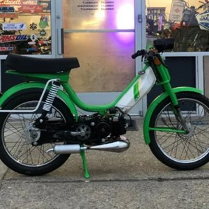 1978 Green and White Honda Hobbit PA50 (SOLD)