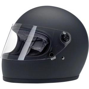 Biltwell Gringo S Flat Black ECE Helmet