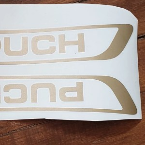 Puch Series B reproduction tank decal