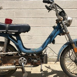 Blue Vespa Grande project – as is (SOLD)