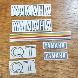 Yamaha QT50 reproduction decal set