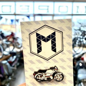 Tomos Bullet TT – Moped Enamel Pin
