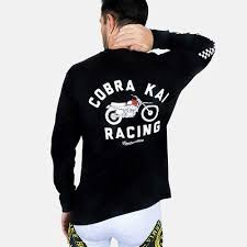 Contenders Cobra Kai Racing Long Sleeve shirt