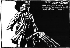 zapior cartoon of spear