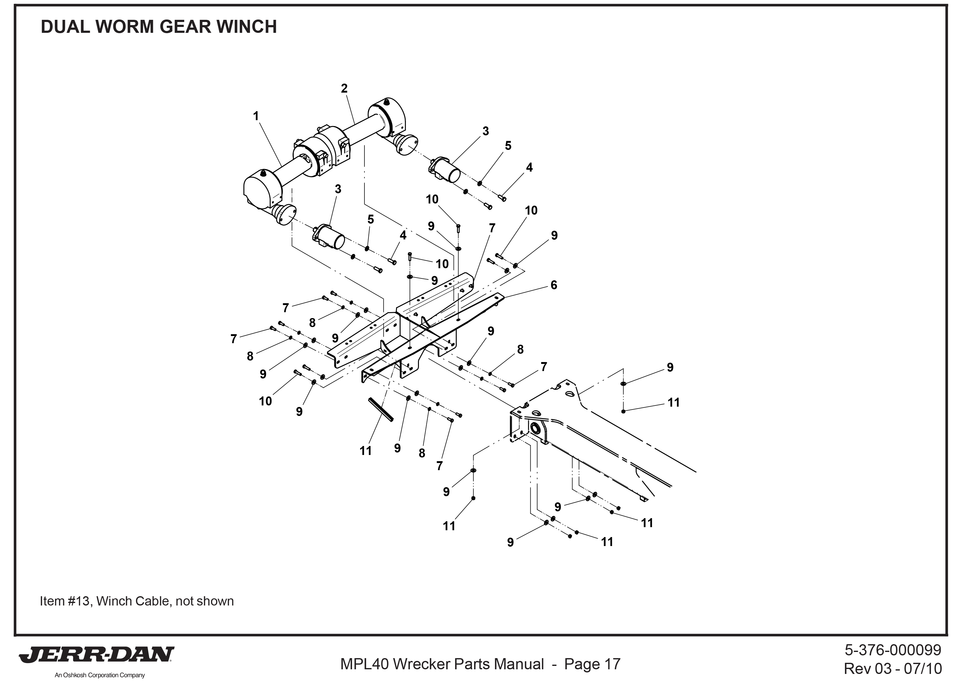 Ramsey Winch Parts Archives