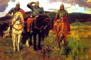Описание картины В. М. Васнецова «Богатыри»