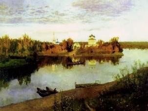 Описание картины И. И. Левитана «Вечерний звон»