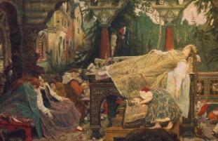 Описание картины В. М. Васнецова «Сказка о спящей царевне»