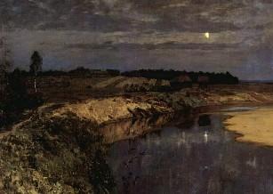 Описание картины И. И. Левитана «Тишина»