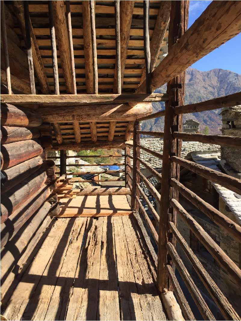 Restauro e Risanamento conservativo di una baita walser