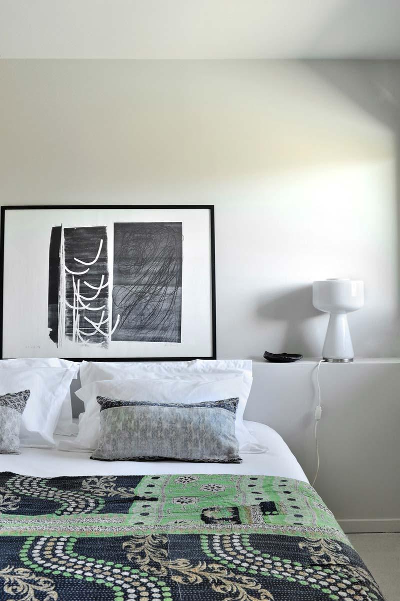 chalet Komani, camera da letto