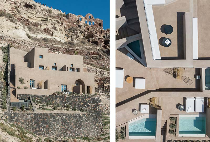 nuovo Boutique hotel a Santorini