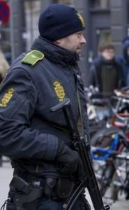 Bevæbnede betjente