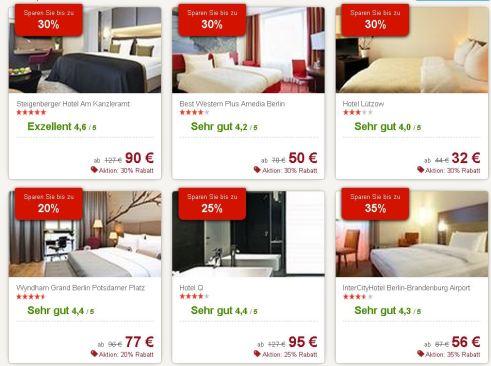 Hotels.com Angebote