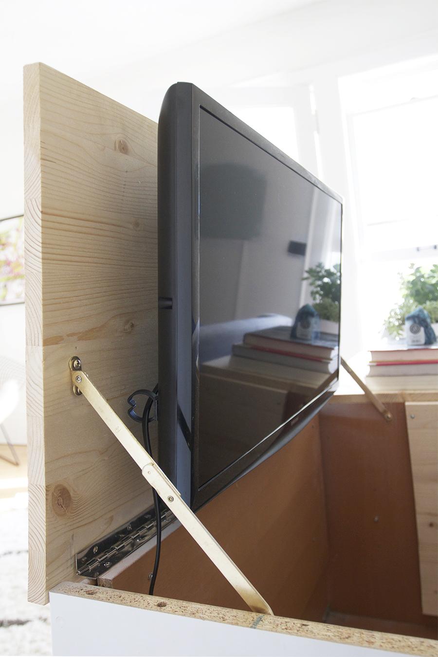 Hiding The Bedroom TV Deuce Cities Henhouse