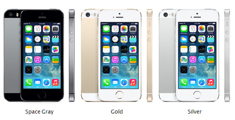Here comes the new iPhone 5s