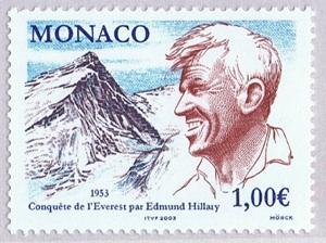 Briefmarke-Edmund-Hillary