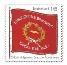 Die Traditionsfahne überdauerte die Zeiten, auch das Hitler-Regime.