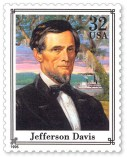 Jefferson Davis Briefmarke 1995
