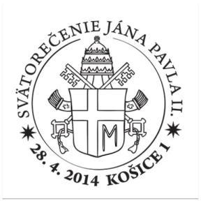 Papstwappen mit falschem Kreuz