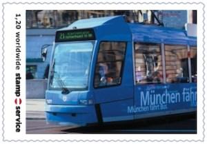 Die Stampservice-Marke zum Münchner Tauschtag.