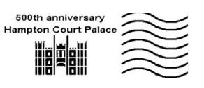 Royal mail Sonderstempel Hampton Court Palace