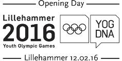 Lillehammer 2016 Sonderstempel