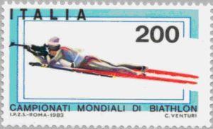 Biathlon-WM 1983 Italien