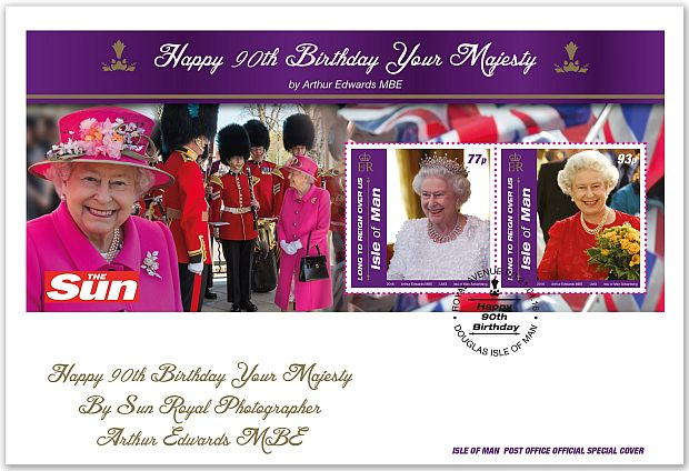 Special Cover - Queen's 90th birthday