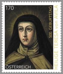 teresa-von-avila-auf-briefmarke