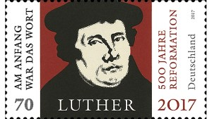 Martin Luther Briefmarke Reformation 2017