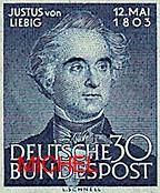 MiNr. 166 Justus von Liebig