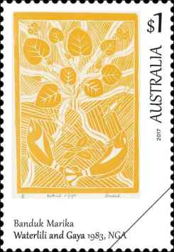 art-of-the-north-bede-tungutalum 1984 Australien Briefmarke Down Under stamp Kultur Kunst (3)