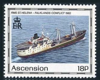 Postschiff St Helena DBZ Deutsche Briefmarken Zeitung Fahrbetrieb Stempel Block Geburtstag (5)
