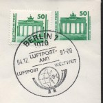 Raetselhafte Ganzsachen Deutschland BRD DDR Wiedervereinigung Briefmarke Opitz