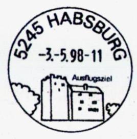 Rudolf I Habsburg Koenig Titelthema DBZ 9-2018 Stempel