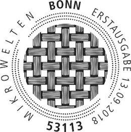 Ersttagsstempel Kohlenstoffasern Bonn
