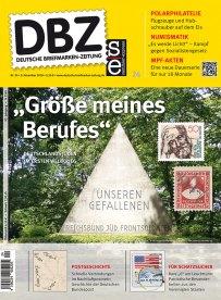 Deutsche Briefmarken Zeitung Deutsches Reich Titel Juden Weltkrieg