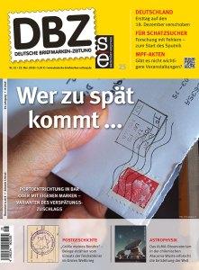 Deutsche Briefmarken Zeitung Porto Briefmarke 2018