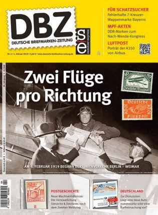 DBZ Briefmarke Linienflug Macht Krieg Lufthansa Airbus (1)