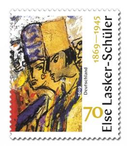 Briefmarke Deutschland Else Lasker-Schueler
