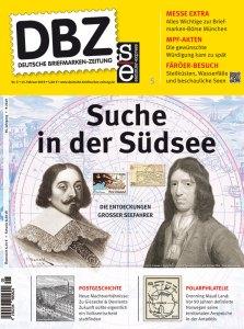 Deutsche Briefmarken Zeitung Suedsee Forscher Seefahrer Messe Muenchen Numismatik Inhalt