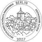 Stempel Berlin Rothenburg ob der Tauber