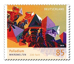 Briefmarke Deutschland Palladium