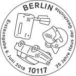 Stempel Berlin Haus der Geschichte