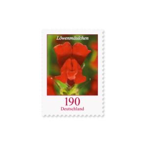 Briefmarke Deutschland Löwenmäulchen