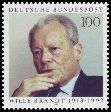 Briefmarke Deutschland Willy Brandt