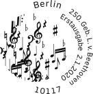 Stempel Berlin Ludwig van Beethoven