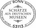 Stempel Bonn Vincent van Gogh